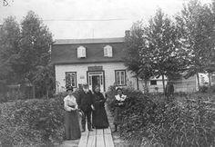 Roberval---résidence du notaire Israel Dumais, 1905.