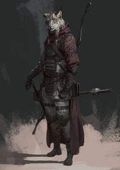 Art by su jian Fantasy Races, Fantasy Warrior, Fantasy Rpg, Fantasy Artwork, Dungeons And Dragons Characters, D D Characters, Fantasy Characters, Fantasy Character Design, Character Design Inspiration