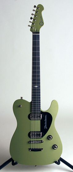 MTfairlane.   Awesome looking Fairlane!!! This shade of green satin looks great here! Not an easy color to make work on a guitar. WOW! It sure worked on this STUNNING Fairlane!!!