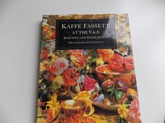 Kaffe Fassett at the V & A Knitting and Needlepoint vintage book from 1988 Victoria and Albert Museum contemporary exhibition with 230 fotos by PurpleValleyDesign on Etsy