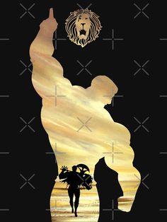'Escanor - Seven Deadly Sins' T-Shirt by Blason Otaku Anime, All Anime, Manga Anime, Anime Art, Escanor Seven Deadly Sins, Hacker Wallpaper, Screen Wallpaper, Wallpaper Quotes, Anime Lock Screen