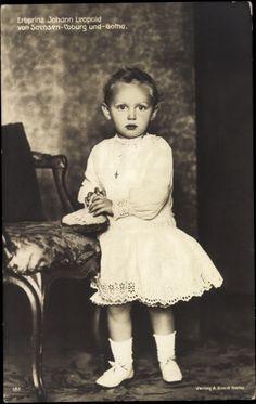 Prince Johann Léopold de Saxe Cobourg-Gotha(1906-1972) fils de Charles Edouard duc de Saxe-Cobourg et de la princesse Victoria-Adélaïde de Schleswig-Holstein-Sonderbourg-Glücksbourg (1885-1970)