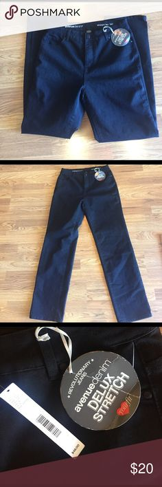 NWT women's Black jeans Brand new. 14Tall Pants Straight Leg