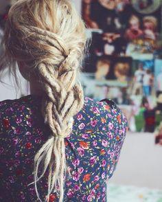 Blonde Braided Dreads
