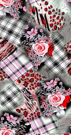 HAND DRAWN_Flower Design_Digital Print_1   Blisse Design Studio