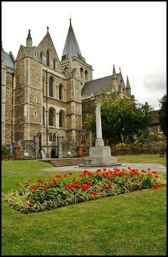 Rochester Cathedral in Kent, England. Built in 1079 and is the second oldest cathedral in England, Canterbury Cathedral being the oldest