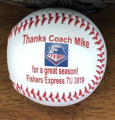 Baseballs custom made just for you using your photos, team logos and words! Plus plenty of room for team signatures! Gifts For Baseball Players, Baseball Gifts, Sports Gifts, Baseball Mom, Team Mom, Coach Gifts, Personalized Gifts, Logos, Fall