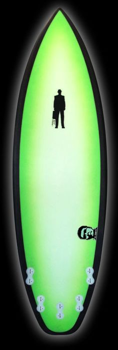 Monsta | Carbon Footprint lime halo fade – Proctor Surfboard Shop