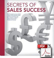 Secrets of Sales Success - Free Sales Principles from @DaleCarnegie & @Gitomer: