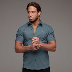 Just Restocked (FS237 🔎). Shop | Link in bio 🌐  Model @jameslock__ 📸 @3dgphoto  #SuperSlim #Stretch #Classic #Shirts #Exclusive #Menswear #Clothing #SlimFit #Unique #Detail #Fashion #Formal #Casual #NewArrival #SlimFit #Fitted #Black #ShortSleeve #LongSleeve #FatherSons #Father #Sons #Tatts #Ink #Inked #Gym #Fitness #Jersey #Tshirts #Polo #Tops