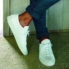 white (Common Projects) + navy