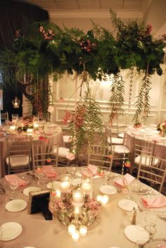 #princessparty #pinkandsilver #limanidesignsevents #hangingfloral