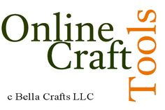 Ever wish you could find free online craft tools to help with your next project?  I have compiled my favorite online craft tools to share with you.  They are easy to use and will help to enhance your crafting experience.