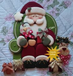 Christmas Ornaments, Holiday Decor, Country, Home Decor, Punch, Christmas Pillow, Chicken Crafts, Papa Noel, Decoration Home