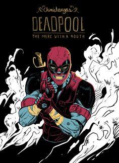 Rafael Grampá Deadpool by Dan Mora, via Behance