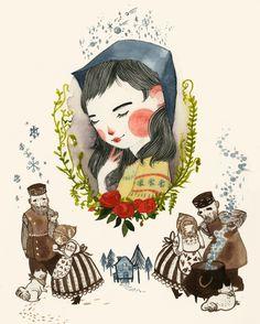 Jensine Eckwall's Little Snow Girl