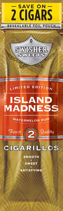 Swisher Sweets continues its limited edition cigarillo line with Swisher Sweets Island Madness.