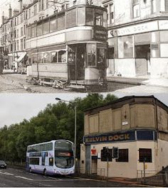 Glasgow Punter: Maryhill is Wonderful (Walking Through Maryhill With Some Old Photos as a Guide) Old Pictures, Old Photos, Glasgow Architecture, Bin Shed, George Cross, Glasgow City, Best Pubs, Great Western, Police Station