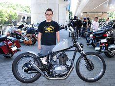 カワサキ TR250 ストリートスナップ 下須賀 義尚さん【STREET-RIDE】ストリートバイク ウェブマガジン