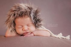 Find this hat and all of my newest creations on ~ www.bebekphotoprops.com ~  Oh my- you cant go wrong with a cozy little {Eskimo Bebe} in your