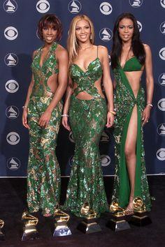 Destiny's Child, Grammy Awards American Idol, 2000s Fashion, Fashion Outfits, Photo Star, Nice Dresses, Formal Dresses, Destiny's Child, Glamour, Up Girl