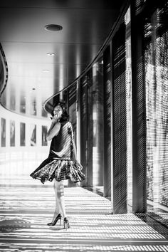 Nicole Warne - Calvin Klein top and skirt, Christian Louboutin shoes.  (Dolder Grand Hotel, Zurich, Switzerland - May 2014)
