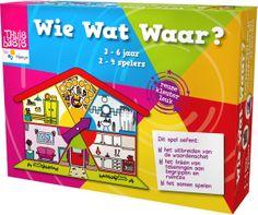 Thuisbasis (Plantyn) - Wie Wat Waar? NIEUW! - Kleuters - Spellen Coöperatief spel - Ruim samen op voor de sloddervos er weer een troep van maakt!