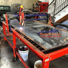 CNC BurnTables Plasma Tables #cnc #plasma #hypertherm #metal #steel #cutting…