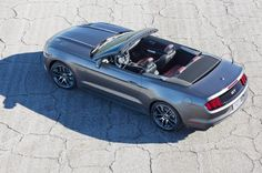 2015 Ford Mustang Convertible First Look