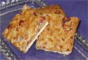 Low Glycemic Carb No Sugar Added Coconut Cranberry Breakfast Bars Recipe Made With Stevia