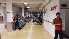 Sala de fitness con el gran Sergio!!!