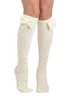 Baking Date Socks in Vanilla, #ModCloth