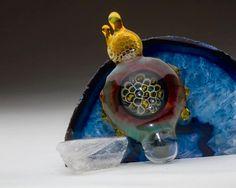 "G. Check x Glass Hopper ""Killa' Bees"" Collaboration Pendant 1 of 3 $ 300"