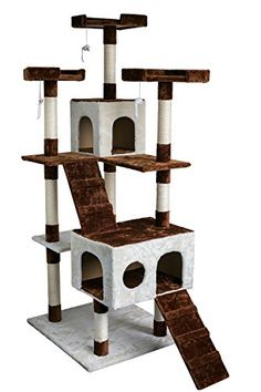 Fire Sale Carb-certified Merax Cat Tree Cat Tower House with Condo Scratching Post (Design-NO.1) Merax http://smile.amazon.com/dp/B01628JGPI/ref=cm_sw_r_pi_dp_RLiEwb1AH70RY