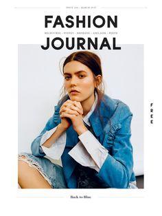 Fashion Journal 166   Back to Blue