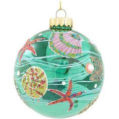 Seashell Design Glass Ornament, http://www.amazon.com/dp/B00F33BXEQ/ref=cm_sw_r_pi_awdl_qsNMsb1E0BF41