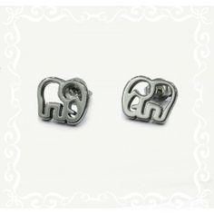 Hermosos aritos elefantes Acero quirúrgico hipoalergénico, ideal para nuestras hijas. Bathroom Hooks, Daughters, Elephants, Steel