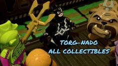Lego Marvel Super Heroes 2 - Torg-Nado All Collectibles / 100% Walkthrou...