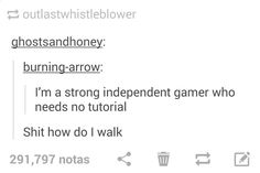 I don't need a tutorial