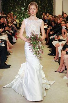 Carolina Herrera Bridal Collection 2016