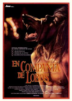 Watch The Company of Wolves HD Streaming Wolf Movie, Movie Tv, Horror Movie Posters, Horror Films, Werewolf Stories, Wolf Poster, Fox Movies, Antique World Map, Inspirational Movies