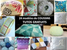 Bettinael.Passion.Couture.Made in france: COUSSIN : 24 idées et tutos couture