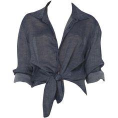 Ksubi Gauze Shirt (€185) ❤ liked on Polyvore featuring tops, t-shirts, shirts, blusas, gauze shirt, navy blue shirt, slim fit shirts, pocket shirts and navy t shirt