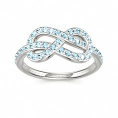 Aquamarine Ring for child's birth month.