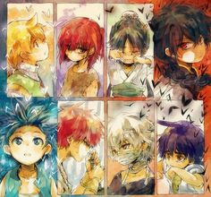Magi: The Kingdom of Magic and Magi: The Labyrinth of Magic □■