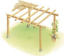 Build the perfect pergola in your garden this weekend. Here are 51 free DIY perg. Build the perfect pergola in your garden this weekend. Here are 51 free DIY pergola plans to get you started. Videos and PDF are included. Diy Pergola, Pergola Canopy, Pergola Swing, Metal Pergola, Pergola With Roof, Diy Deck, Cheap Pergola, Wooden Pergola, Outdoor Pergola