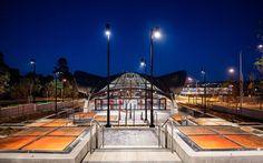 Showground Metro Station, Sydney. Sydney Metro, Metro Station, Stairs, Stairway, Staircases, Ladders