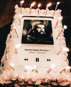 not this particular song but it's a good idea... 14th Birthday, Birthday Cake, College Invest, Vsco Filter, Creative Inspiration, Investing Money, Bb, Special Gifts, Food Porn