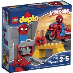 LEGO DUPLO Marvel SpiderMan WebBike Workshop Building Set 10607 WLM -- Check out this great product.Note:It is affiliate link to Amazon.