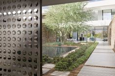 image palm springs mid century courtyard - Google Search